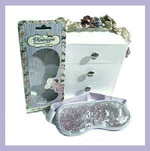 Vintage Cosmetic Company Gel Bead Eye Mask NIB!